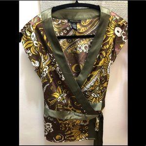 BCBGMaxAzria Wrap Shirt - Size XS